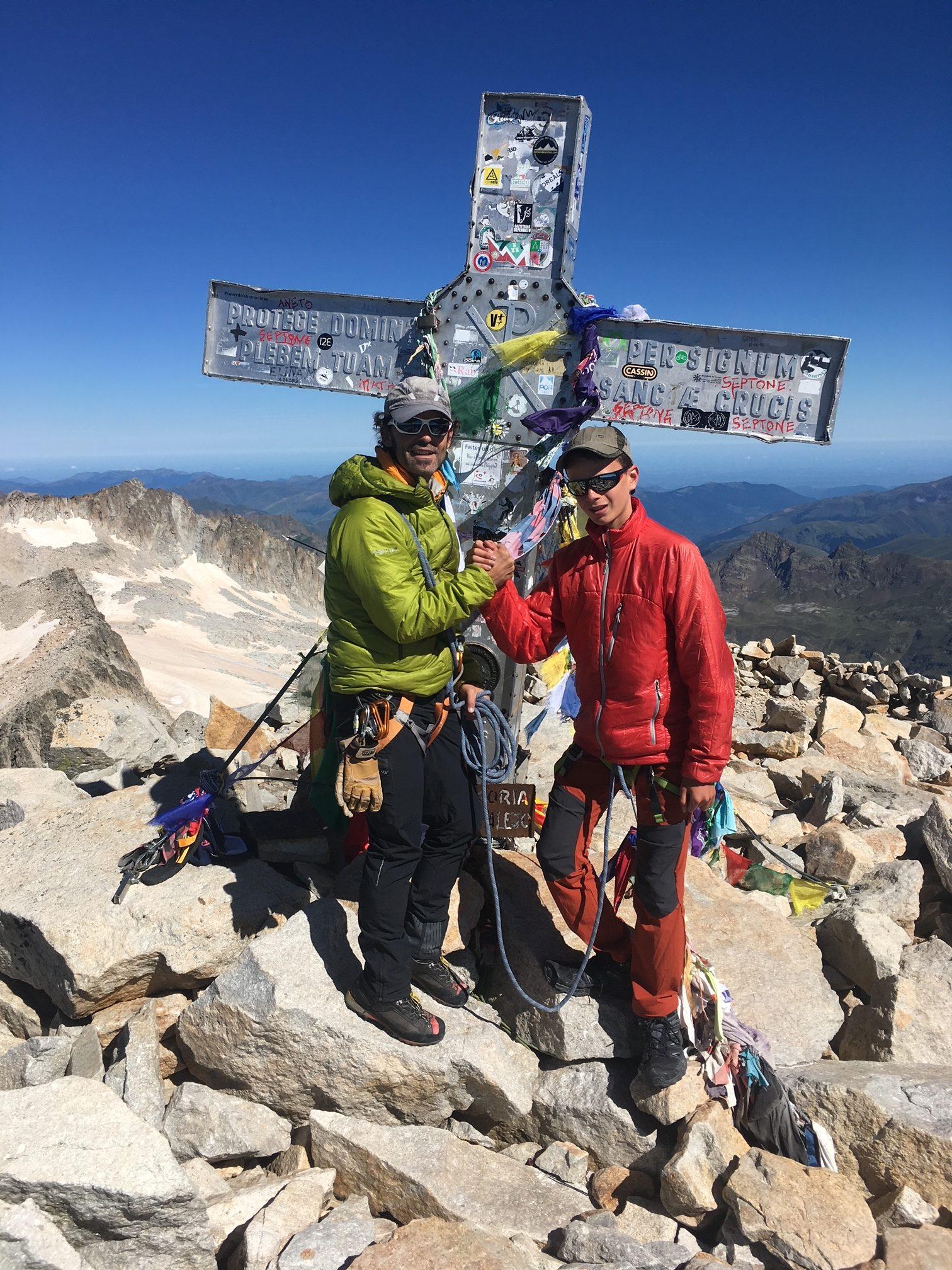 Ascensión Aneto con guía de montaña